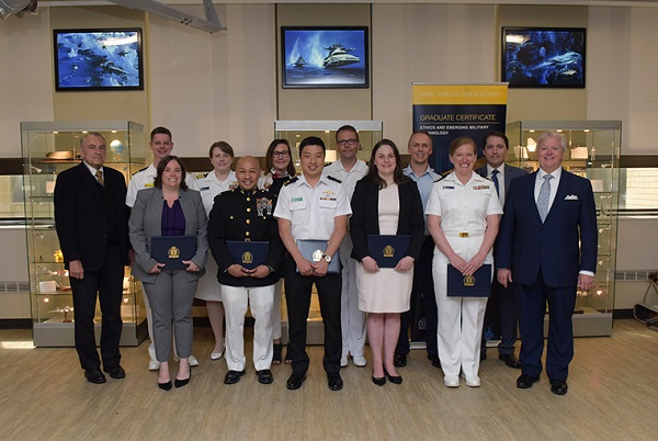 Ten U.S. Naval War College Students Earn Ethics and Emerging Military Technology Program Certificates 1