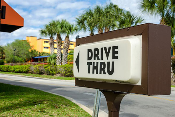 Drive-Thrus and AI Autonomous Cars 1