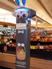 Marty the Robot Rolls out AI in the Supermarket 1